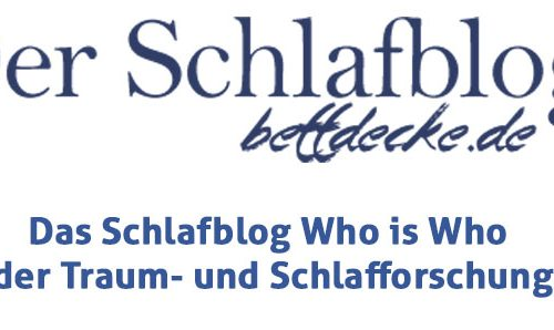 Das Schlafblog Who is Who
